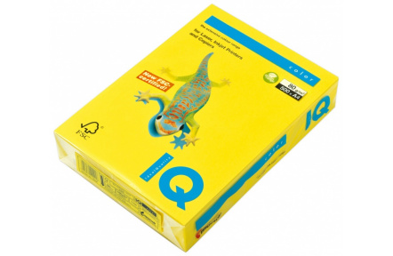 Barevný papír IQ COLOR A4 80GR CY39 kanárkově žlutá  500archů