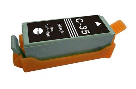 Canon PIXMA PGI35BK, černá, 12ml  100%NEW komaptibilní inkoustová kazeta  PGI35, PGI-35, PGI 35