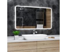 Koupelnové zrcadlo s LED podsvícením 110x80 cm OSAKA