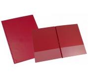 Desky SPORO spodní kapsy červená A4 desky plastové