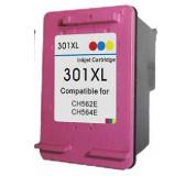 HP CH564 č..301XL color 18ml ,100% NEW kompatibilní kazeta , CH564 XL , CH564 , 301 XL ,