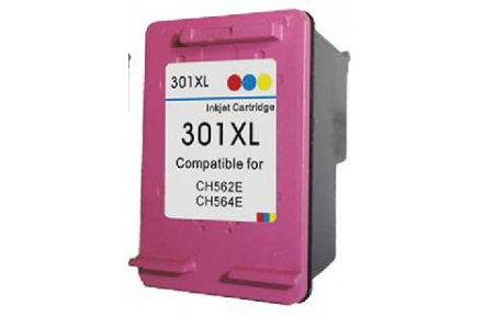 HP CH564 č..301XL color 18ml ,100% NEW kompatibilní kazeta , CH564 XL , CH564 , 301 XL ,