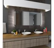 Koupelnové zrcadlo s LED osvětlením 100x70 cm PARIS