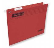 Závesné deky PENDAFLEX STANDARD červená 25ks