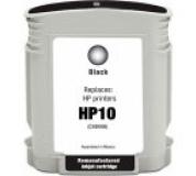 HP C4844 č.10 černá, 100%NEW kompatibilní, 69ml, 1400stran , C 4844,Print IT C4844, č.80, černá
