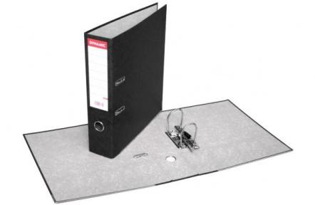 Pořadač pákový A4 PREŠPAN 8cm černý