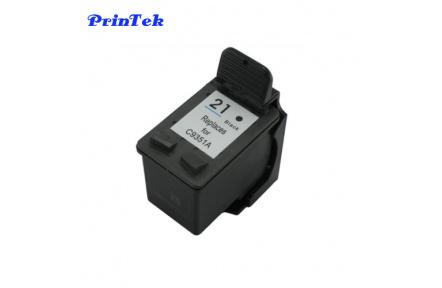 HP C9351 č.21 černá,2ks v balení kompatibilní inkoustová kazeta, 2x23ml  , C 9351, C9351