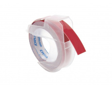 Páska Dymo 3D, 9 mm x 3 m, červená, S0898150