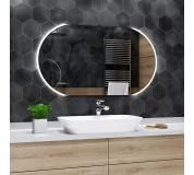 Koupelnové zrcadlo s LED podsvětlením 60x40 cm BALTIMORE