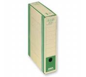 Archivační box  HIT Board natur A4 330x260x75mm zelená , archivační krabice