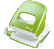 Děrovač LEITZ 5008 metalicky zelený , děrovačka