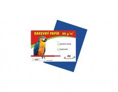 Barevné papíry A4 80g 100ls modré