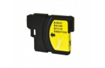 Brother LC1100/LC980 žlutá 13ml kompatibilní kazeta LC 1100 , Print IT LC-980/LC 1100, žlutá