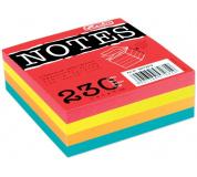 Kostka papírová lepené barevné listy HERLITZ 8x8x3cm