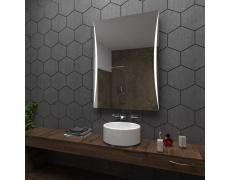Koupelnové zrcadlo s LED podsvětlením 60x80 cm WILNO