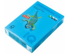 Barevný papír IQ COLORS AB48 A4 160g azurová 250listů