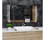 Koupelnové zrcadlo s LED podsvětlením 60x40 cm OSLO