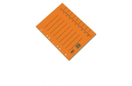 Rozlišovač A4 odstřihávací oranžový 100ks