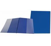 Desky SPORO boční kapsy modrá A4 desky plastové