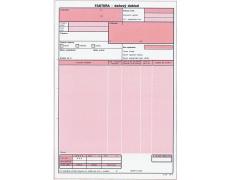 Faktura daňový doklad A5 NCR OP72