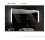 Koupelnové zrcadlo s LED podsvícením 160x70cm PARIS