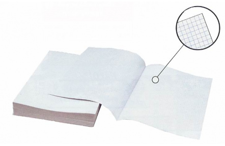 Papír kancelářský četverečkovaný A4 192dvojlistů