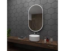 Koupelnové zrcadlo s LED podsvětlením 70x100 cm HAMBURG