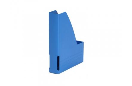 Pořadač na časopisy plastový modrý