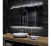 Koupelnové zrcadlo s LED podsvětlením 140x100 cm CHICAGO