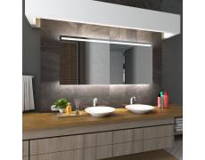 Koupelnové zrcadlo s LED podsvětlením 170x88cm GIZA