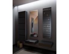 Koupelnové zrcadlo s LED podsvětlením 45x110cm GIZA