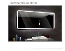 Koupelnové zrcadlo s LED podsvícením 70x90 cm MADRID