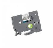 Kompatibiloní páska Brother TZ-MQL35/TZe-MQL35, 12mm x 5m, bílý tisk / světlé šedý podklad