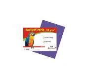 Barevné papíry A4 80g 100ls fialové