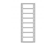 Tabelační etikety 90x36mm jednořadé