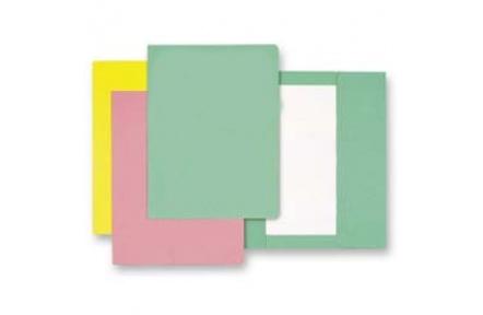 Mapa odkládací 1klopa zelená, papírové desky 1ks