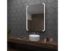 Koupelnové zrcadlo s LED osvětlením 60x80 cm ASSEN