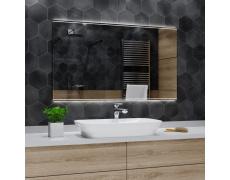 Koupelnové zrcadlo s LED podsvětlením 184x100 cm CHICAGO
