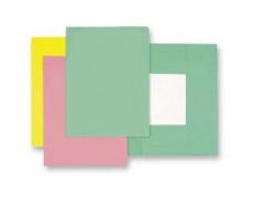 Mapa odkládací 3klopá classic zelená, papírové desky 1ks