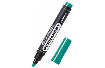 Popisovač 8566 zelený lihový Centropen