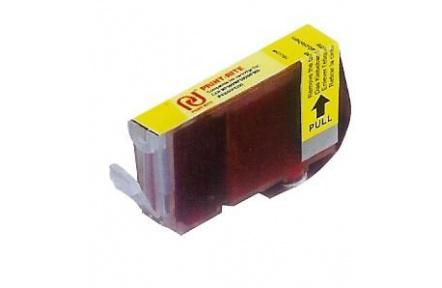 Canon CLI8 Y žlutá s CHIPEM ,kompatibilní inkoustová kazeta,16ml, Print-Rite CLI 8