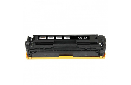 Toner HP CF210X ,131x, kompatibilní kazeta  černá 2500stran ,LaserJet 200 Color M251NW / 200 Color M276N