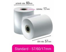 Kotouček papírový 57x60x17mm