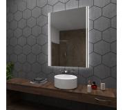 Koupelnové zrcadlo s LED podsvětlením 80x100 cm ARICA2
