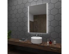 Koupelnové zrcadlo s LED podsvětlením 80x110 cm ARICA2