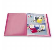 Katalogová kniha 10 listů červená