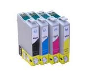Epson T1285 set 4ks kompatibilních inkoustových náplní T1281, T1282, T1283, T1284 pro SX125 SX130 SX420W SX425W, set 4 barev 1x15ml,3x14ml T1281,T1282,T1283,T1284