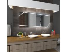 Koupelnové zrcadlo s LED osvětlením 80x60 cm MIAMI