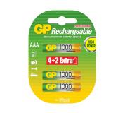 Baterie GP AAA 1000mAh