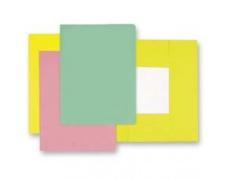 Mapa odkládací 3klopá classic žlutá, papírové desky 1ks